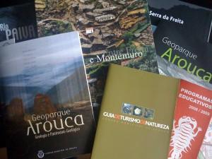 Livros e informação sobre Arouca