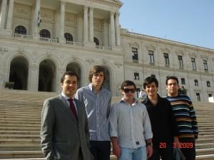 JSD Arouca na Assembleia da República